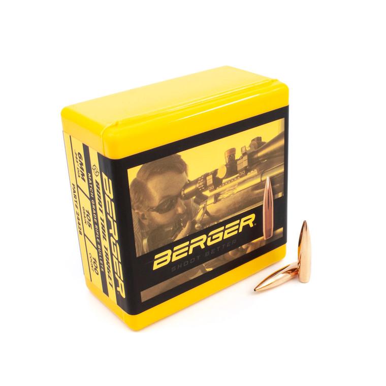 Berger 6 mm 105 Grain BT Target
