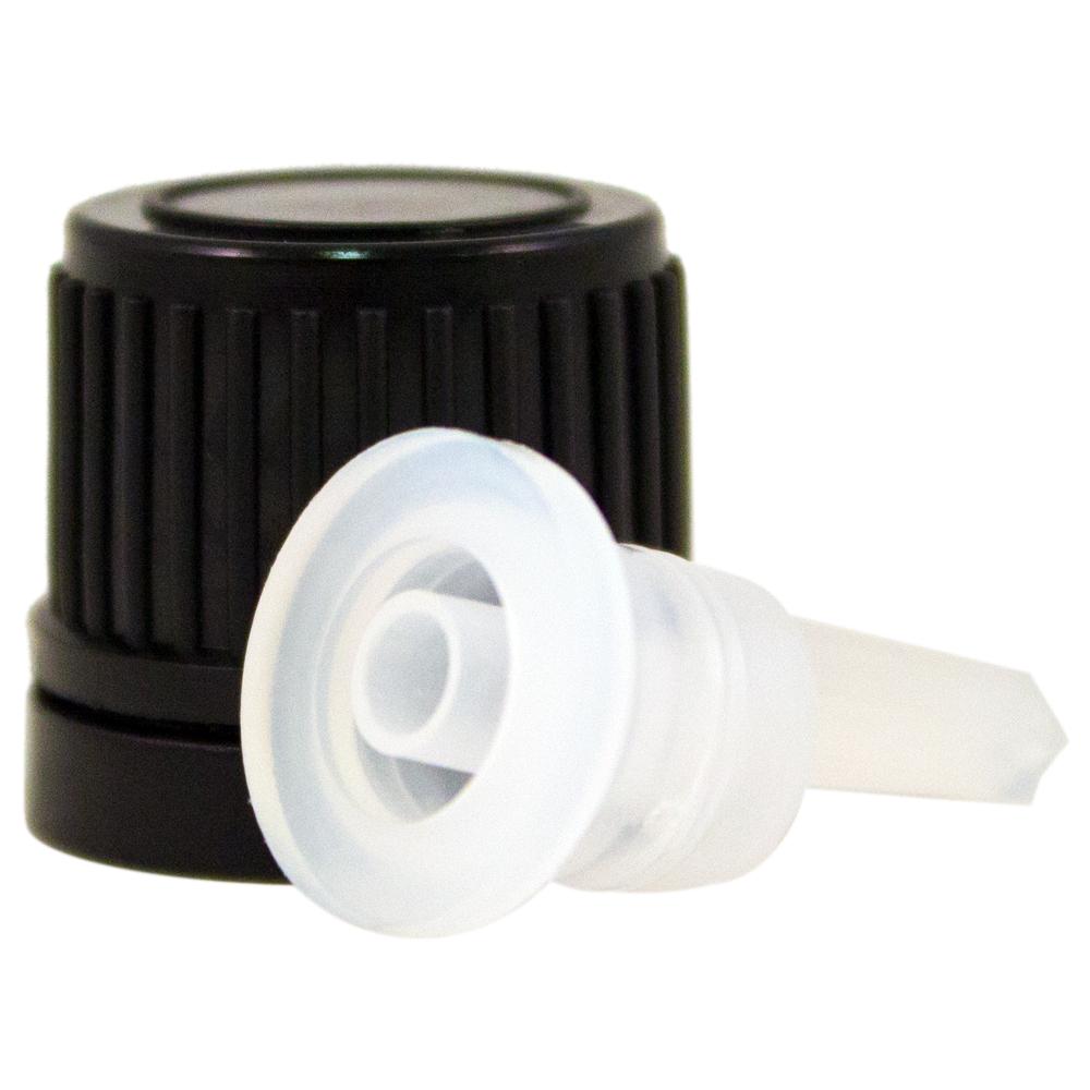 1/2 fl oz (15 ml) Amber Glass Bottle w/ Euro Dropper - 468 Pcs/Case