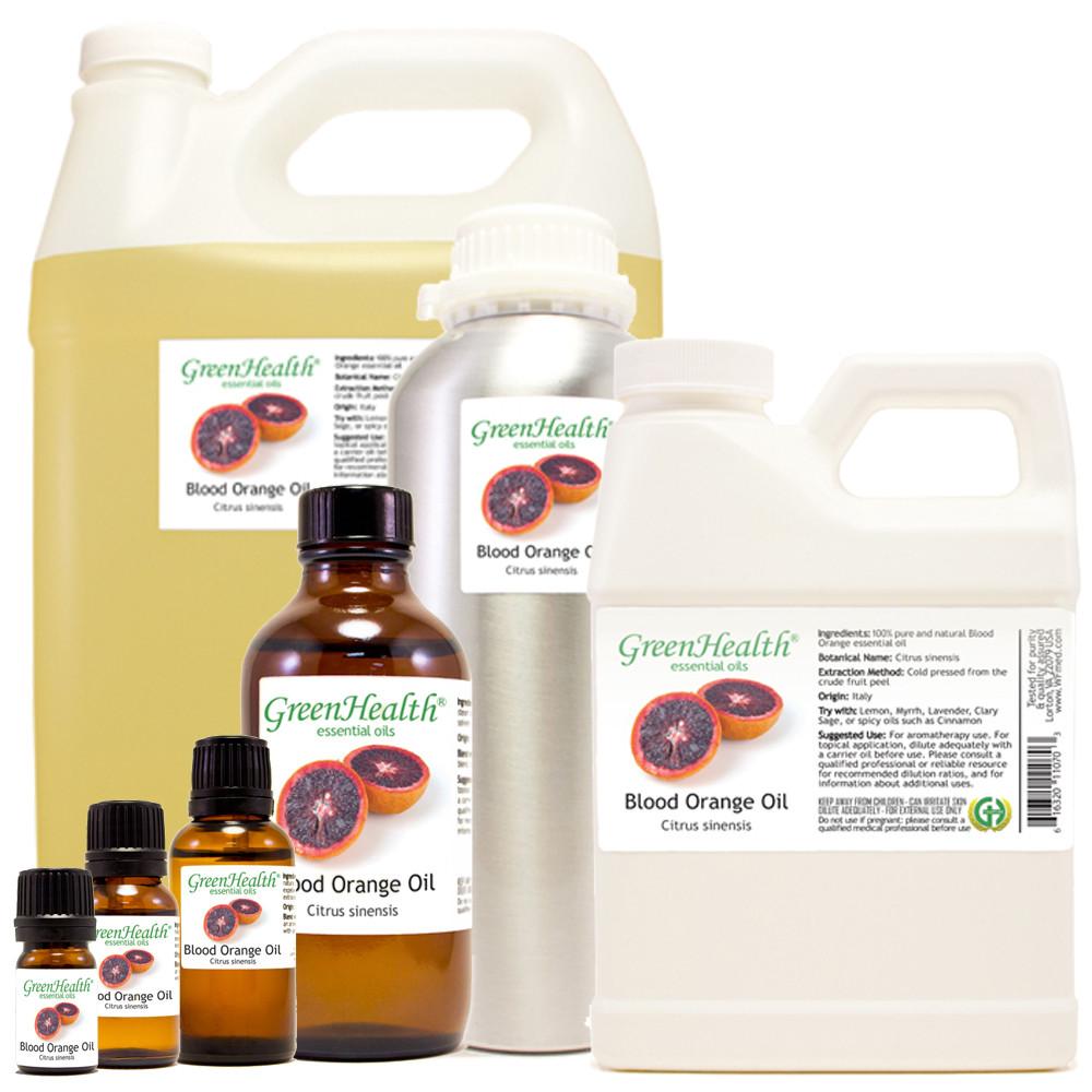 blood orange oil Citrus sinensis