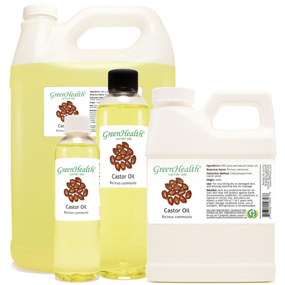 Castor oil 1oz 2oz 4oz 8oz 16oz 32oz