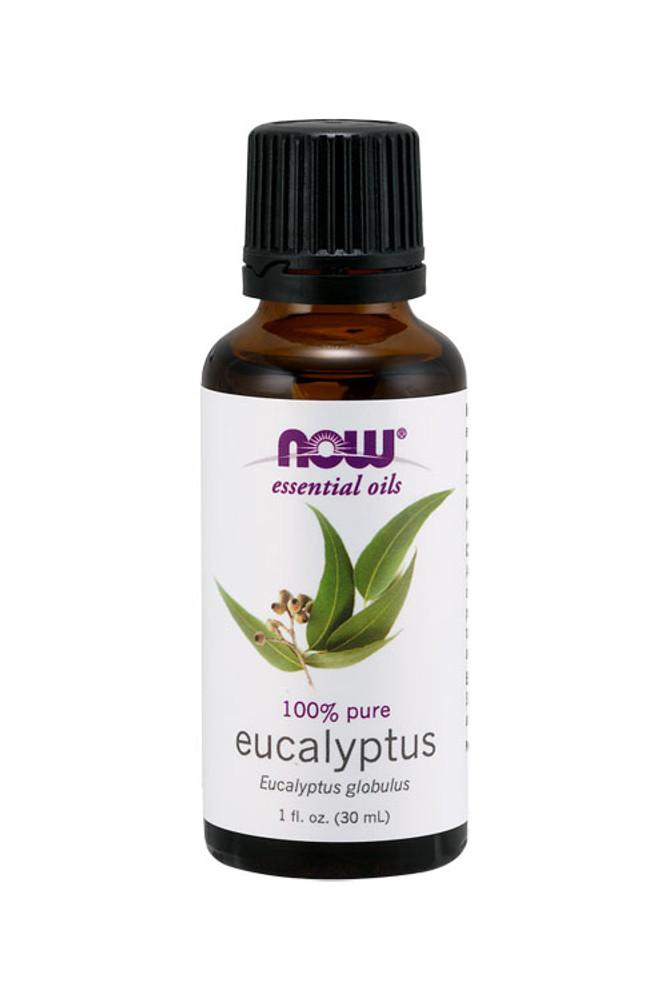 Now Foods Eucalyptus oil 1oz 100% pure essential oil