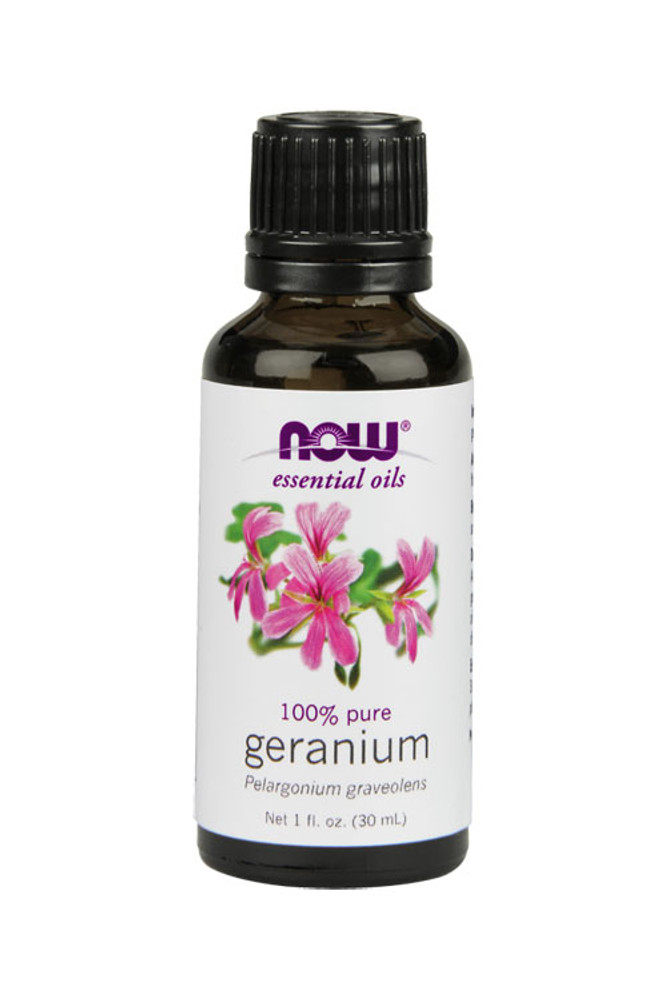 Now Foods Geranium oil 1oz 100% pure essential oil