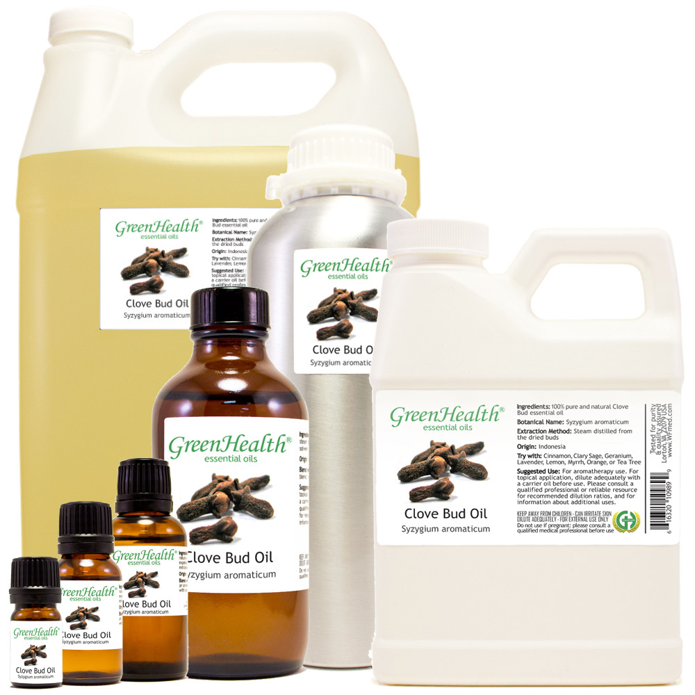 clove bud essential oil Syzygium aromaticum 5ml 10ml 15ml 30ml 2oz 4oz 8oz 16oz 32oz