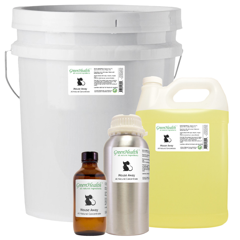 Mouse Away Repellent Blend (Concentrate) 100% Essential Oil