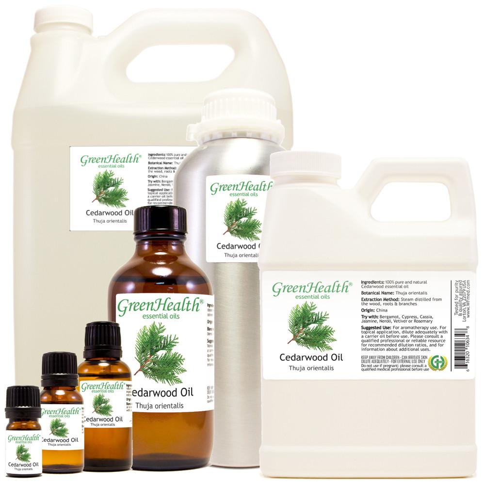 cedarwood oil thuja orientalis 5ml 10ml 15ml 1oz 2oz 4oz 8oz 16oz 32oz