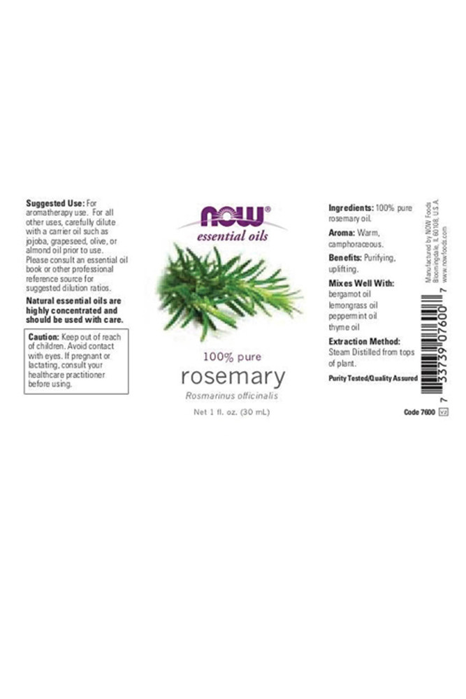 Rosemary Essential Oil - 1 oz