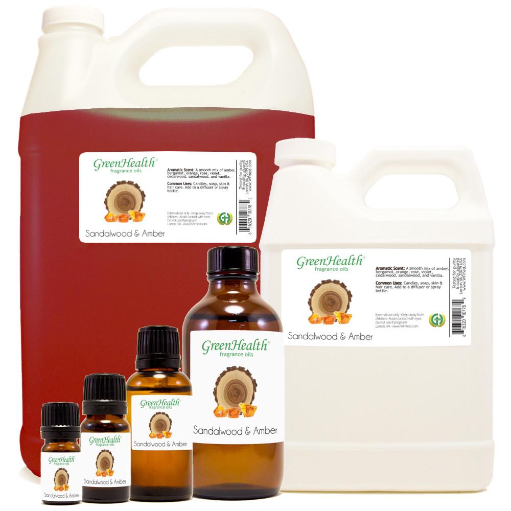 Sandalwood & Amber Fragrance Oil
