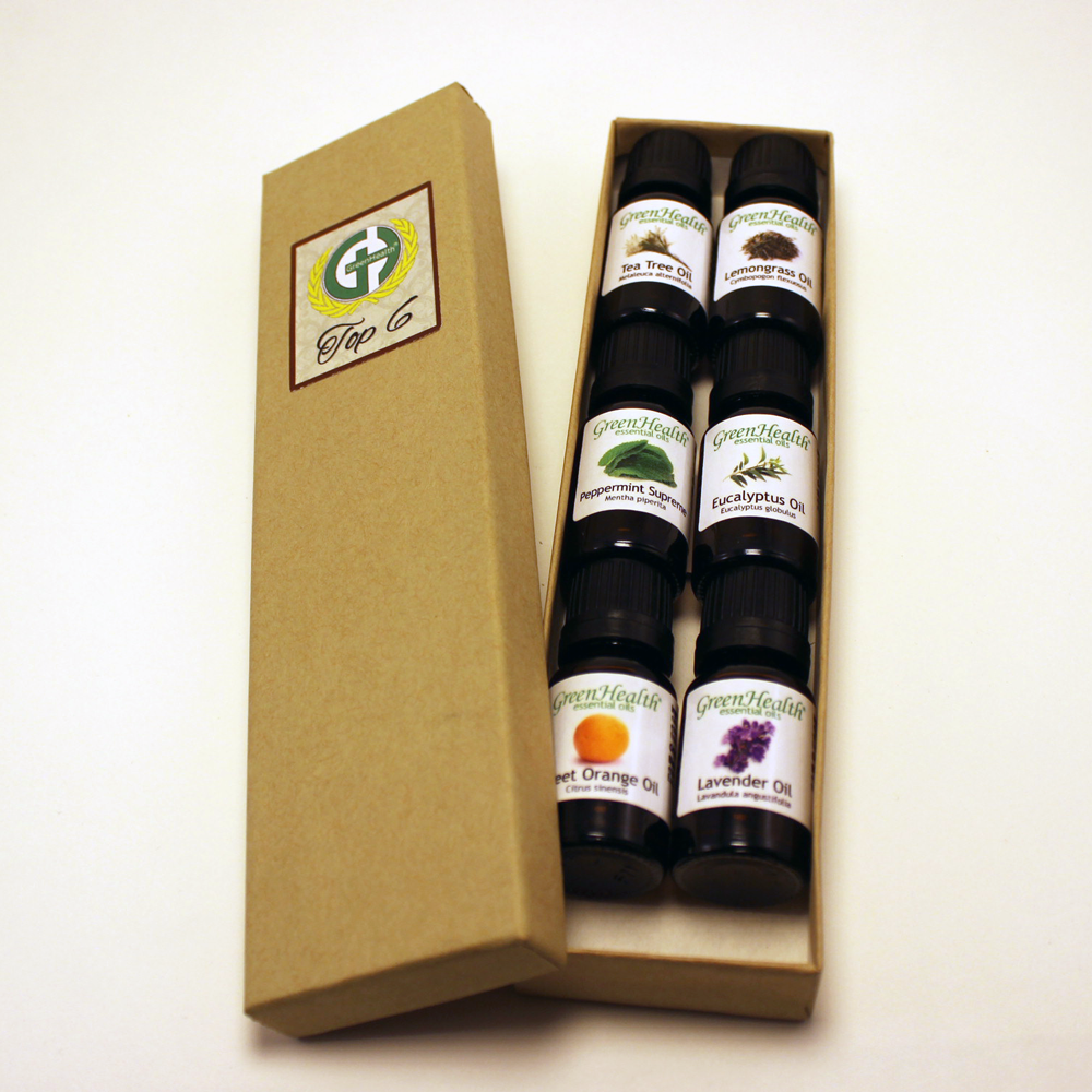Top 6 Essential Oil Gift Set