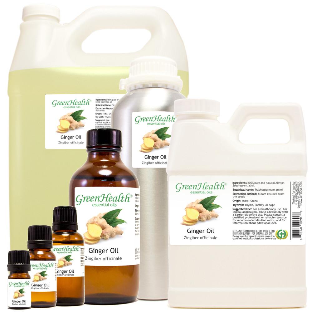 ginger oil zingiber officinale