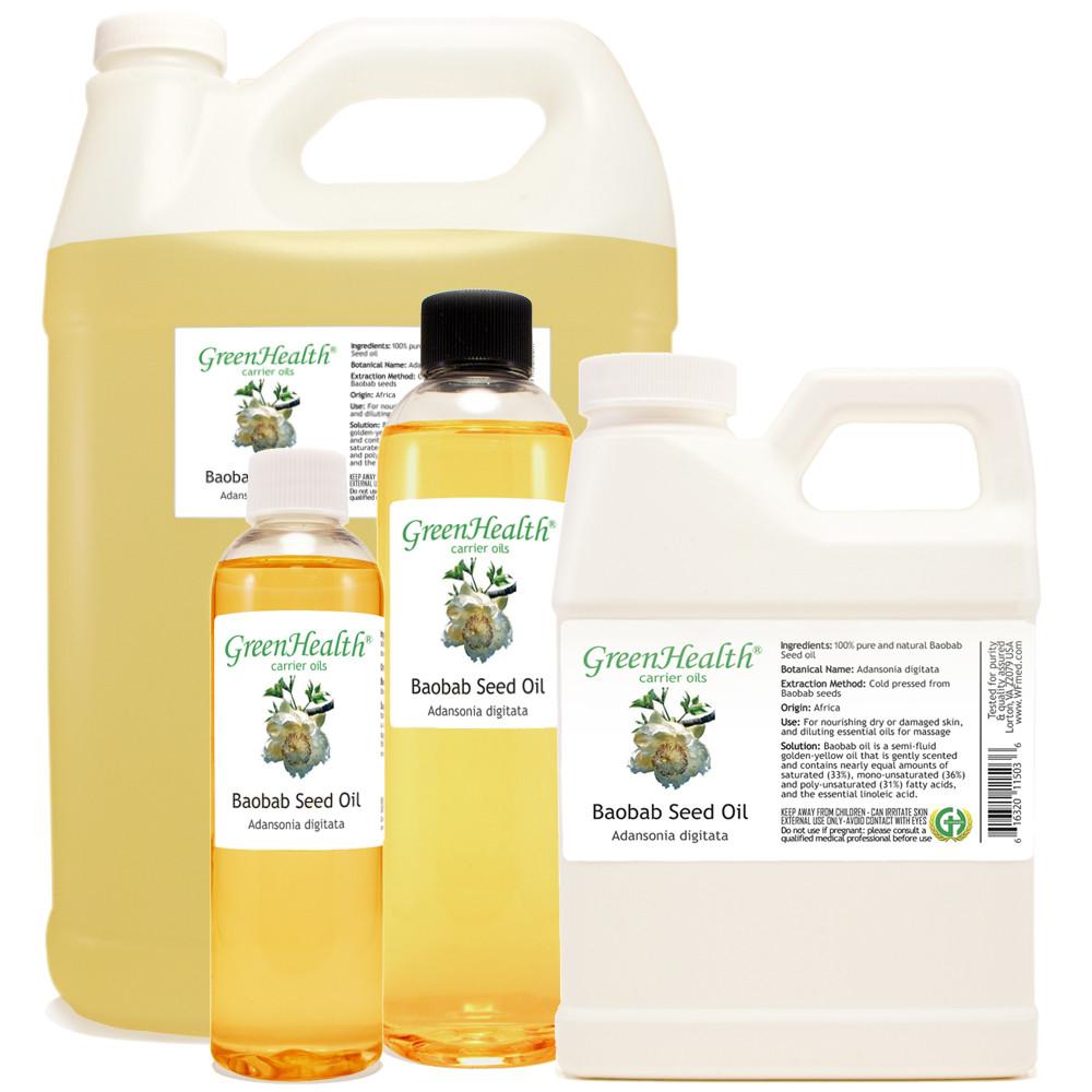 Baobab Seed Oil 1oz 2oz 4oz 8oz 16oz 32oz