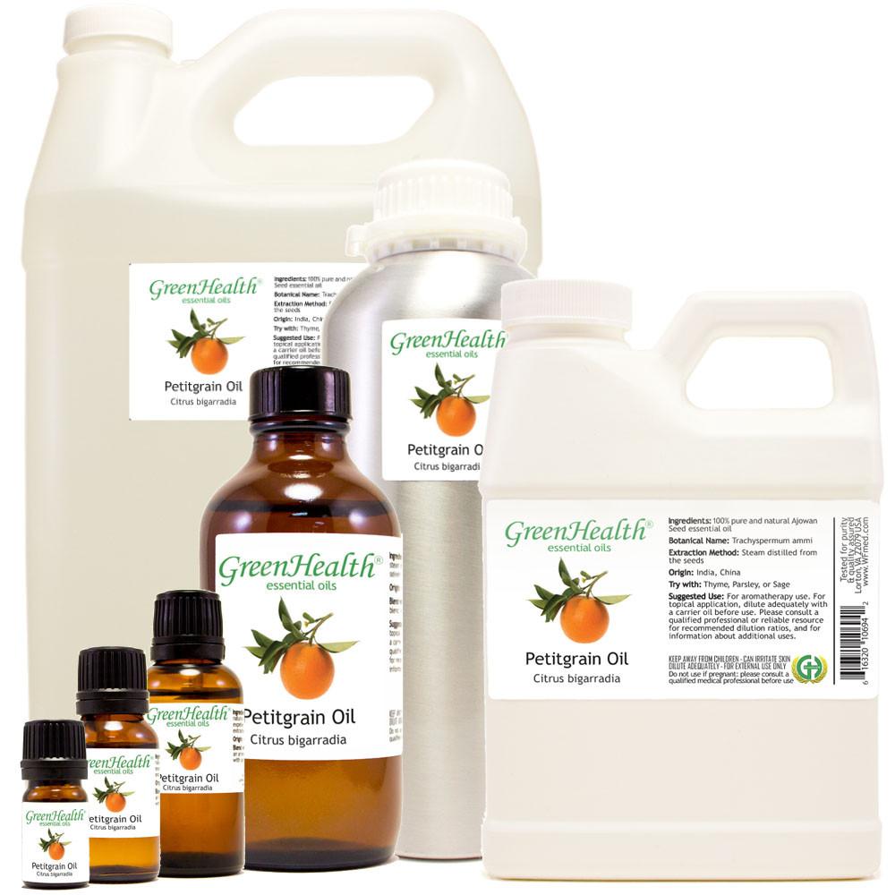 100% pure petitgrain oil citrus bigarradia