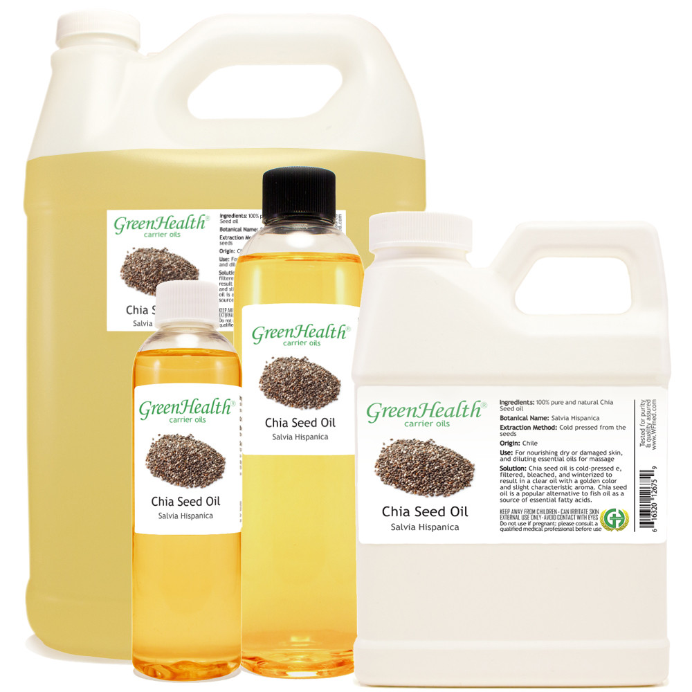 Chia Seed Carrier Oil Essential Oil Wholesale Carrier Oils