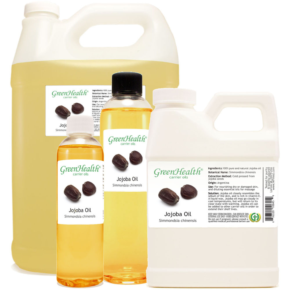 jojoba oil 1oz 2oz 4oz 8oz 16oz 32oz