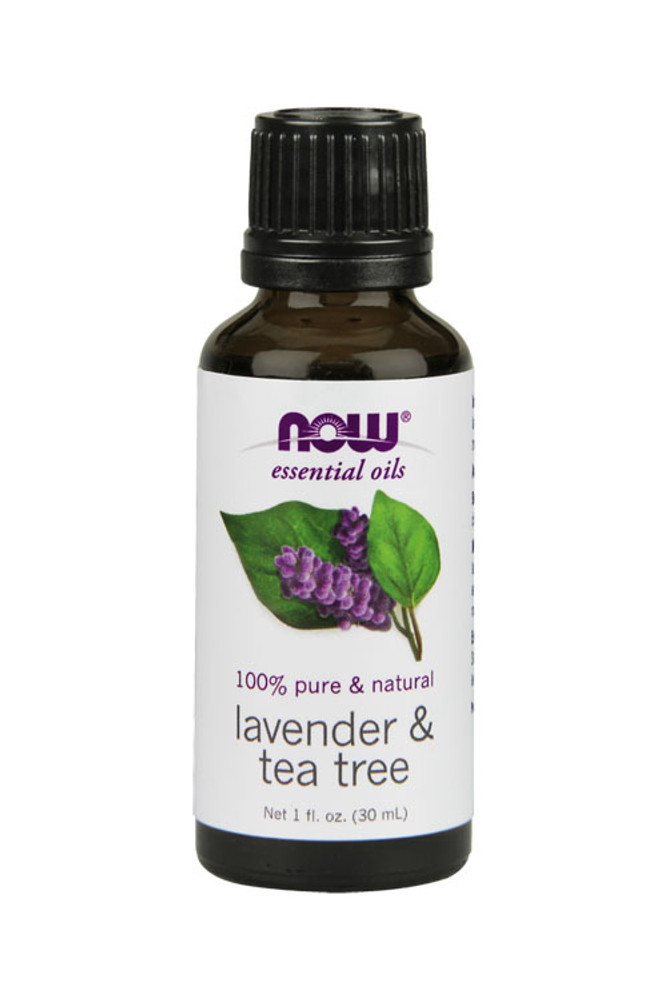 Now Foods Lavender & Tea Tree 1oz 100% pure essential oil