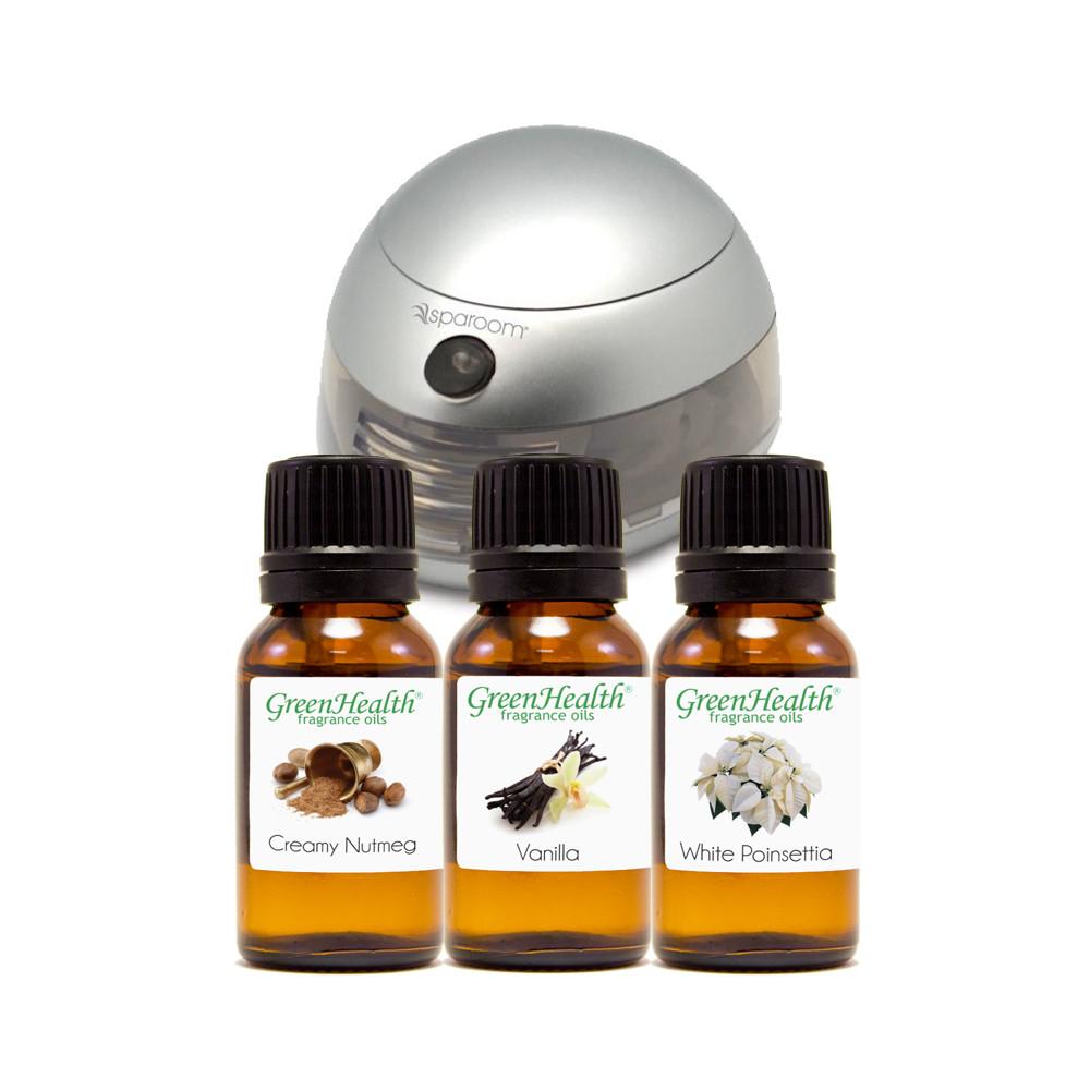 GreenHealth Holiday Fragrance Set (15ml)