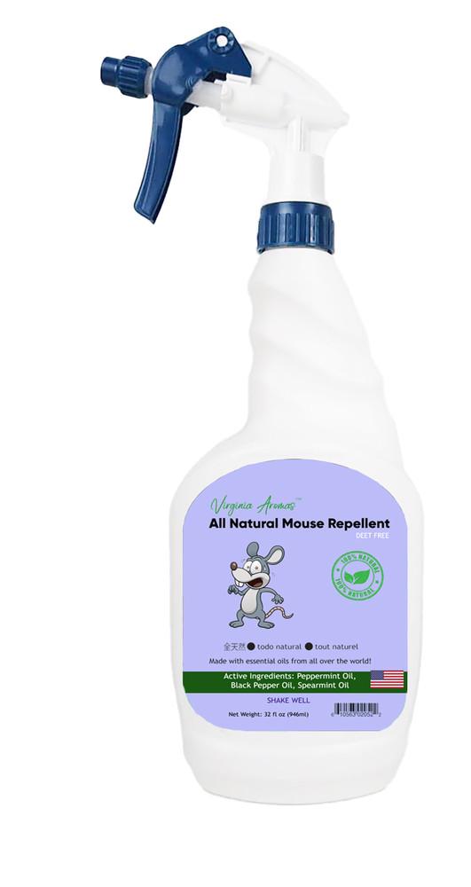 Virginia Aromas Natural Mouse Repellent (32 fl oz Ready-to-use spray)