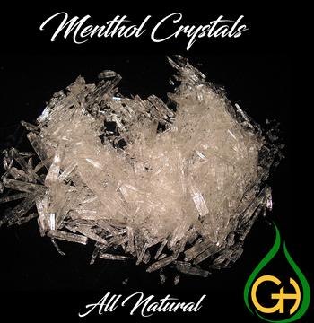 Menthol Crystals USP Grade - 25 kg (55 lbs)  - Free Shipping