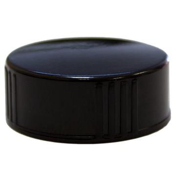 8 fl oz Amber Glass Bottle w/ Phenolic Cap - 96 pcs/Case