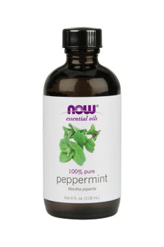 Now Foods Peppermint oil 4oz 100% pure essential oil