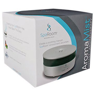 SpaRoom Aromamist Ultrasonic Essential Oil Diffuser (Black)