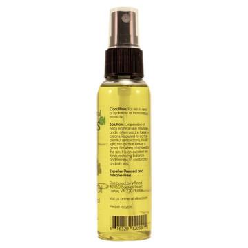 Grapeseed Skin Care Oil - 2 fl oz w/ Black Spray Cap