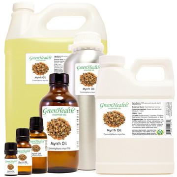 100% pure myrrh oil commiphora myrrha