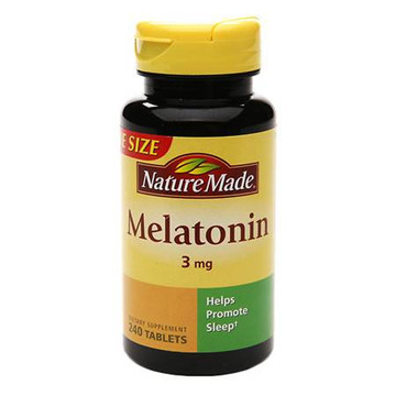 Melatonin, 3 mg, 240 Tablets - Nature Made