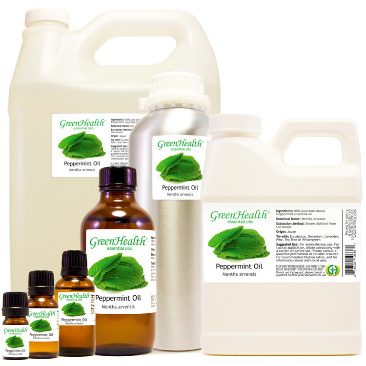 GreenHealth Peppermint oil starting at $1.99