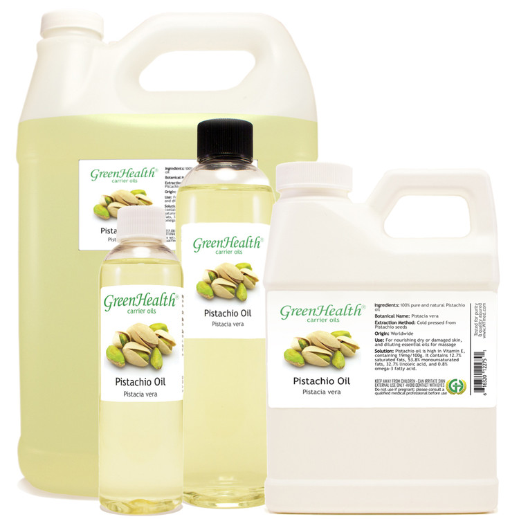 Pistachio Oil 1oz 2oz 4oz 8oz 16oz 32oz