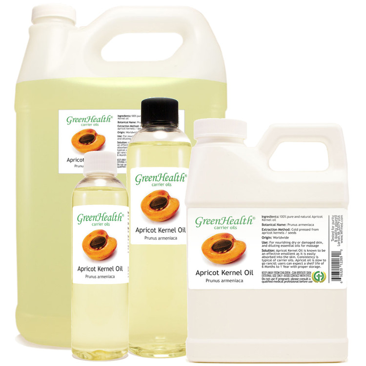 Apricot Kernel oil 1oz 2oz 4oz 8oz 16oz 32oz