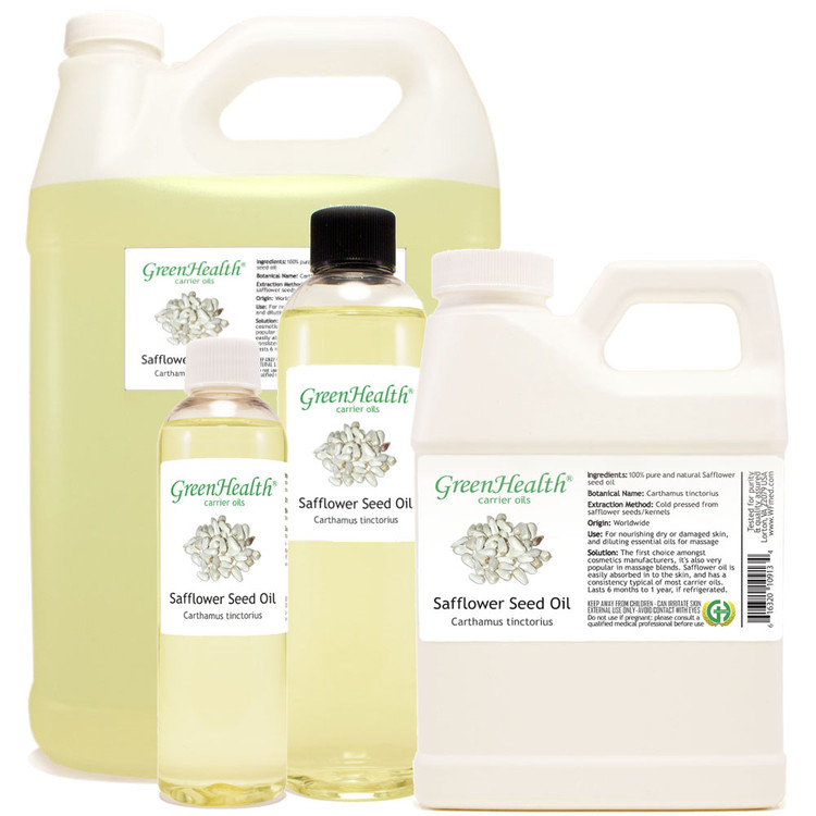 Safflower Seed Oil 1oz 2oz 4oz 8oz 16oz 32oz