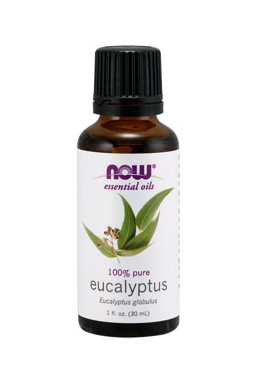 Now Foods Eucalyptus oil 1oz 100% pure essential oil
