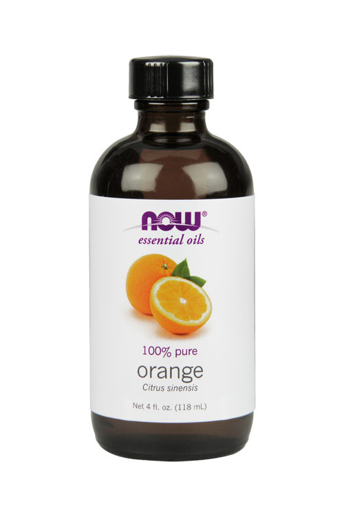 Now Foods Orange oil 4oz 100% pure essential oil
