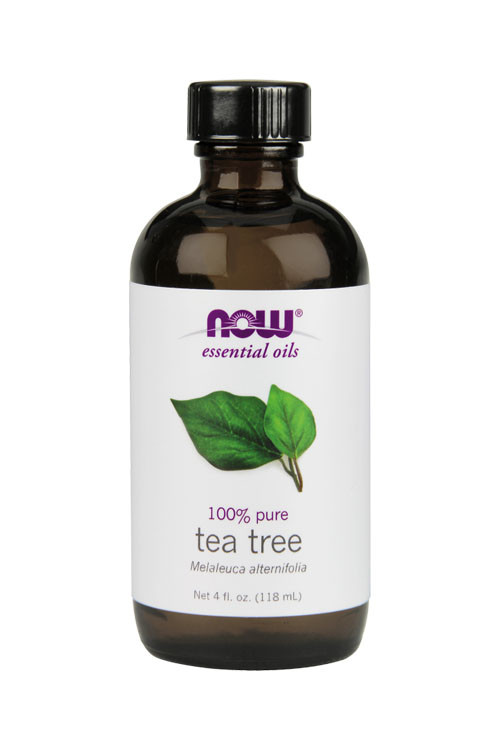 Now Foods Tea Tree Oil 4oz 100% pure essential oil