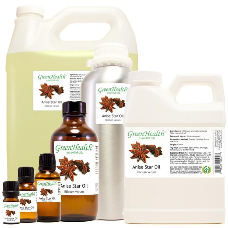 anise star oil illicium verum
