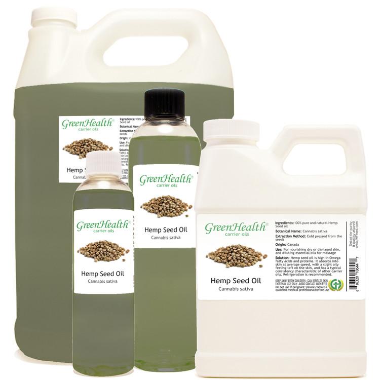 Hemp Seed oil 1oz 2oz 4oz 8oz 16oz 32oz