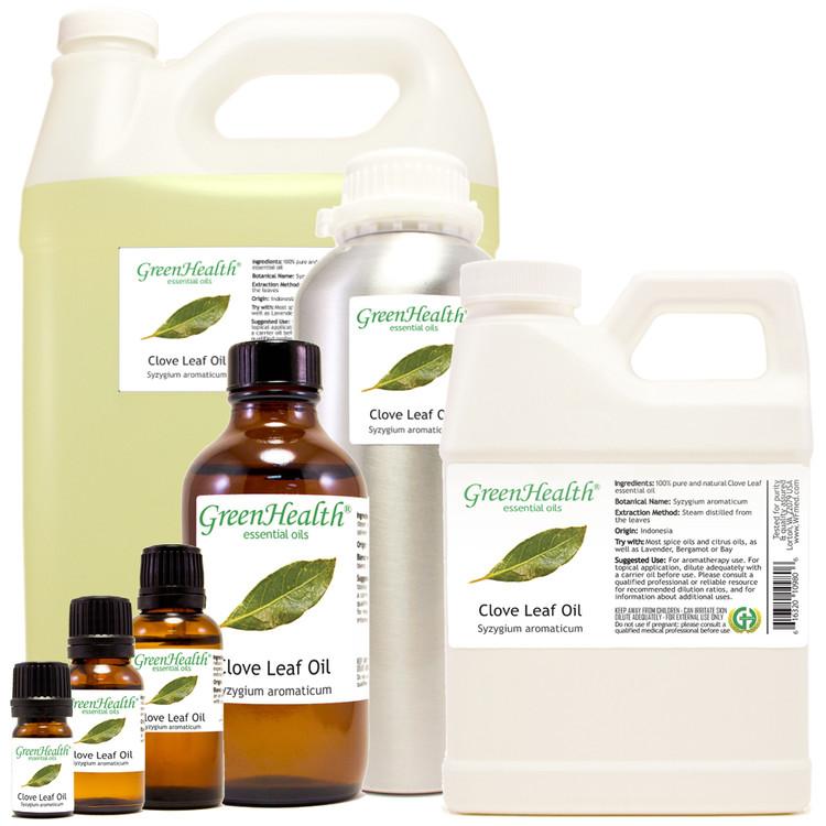 clove leaf oil syzygium aromaticum