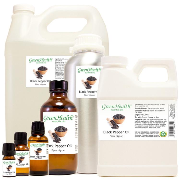 black pepper oil piper nigrum