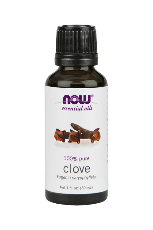 Now Foods Clove oil 1oz 100% pure essential oil