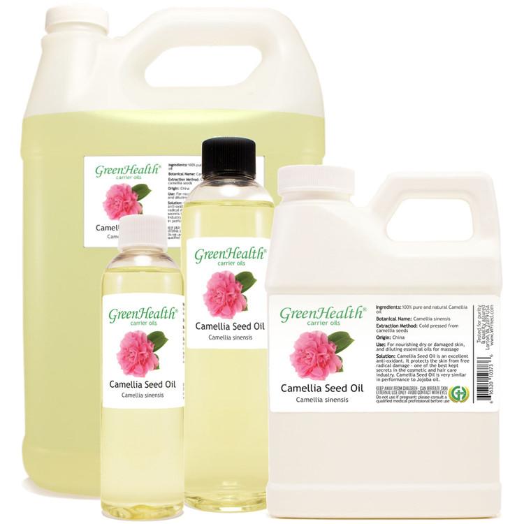 Camellia oil 1oz 2oz 4oz 8oz 16oz 32oz