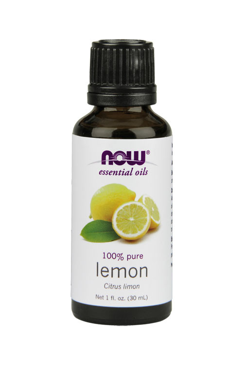 Now Foods Lemon oil 1oz 100% pure essential oil