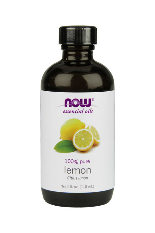 Now Foods Lemon oil 4oz 100% pure essential oil