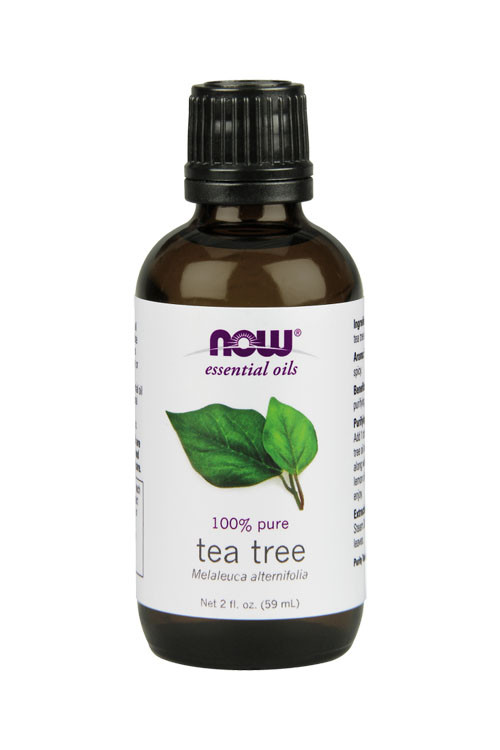 Now Foods Tea Tree oil 2oz 100% pure essential oil