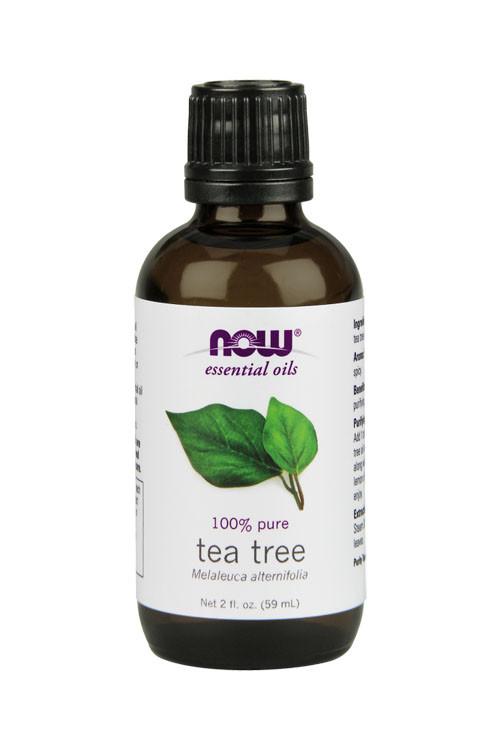 Now Foods Tea Tree oil 2oz 100% pure essential oil