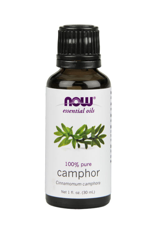 Now Foods Camphor oil 1oz 100% pure essential oil