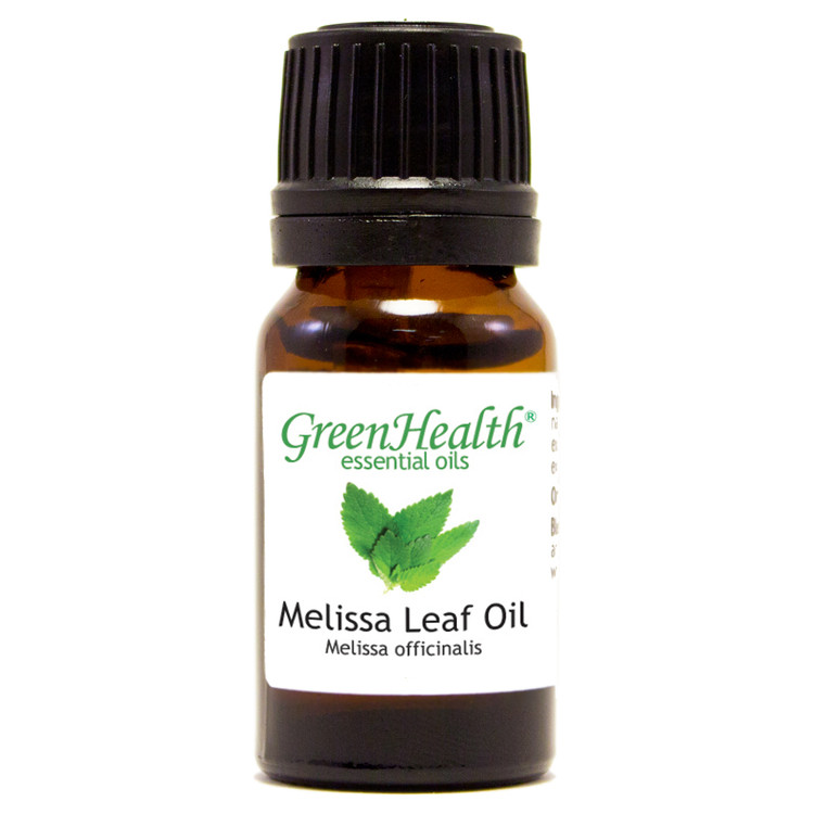10ml melissa leaf oil melissa officinalis
