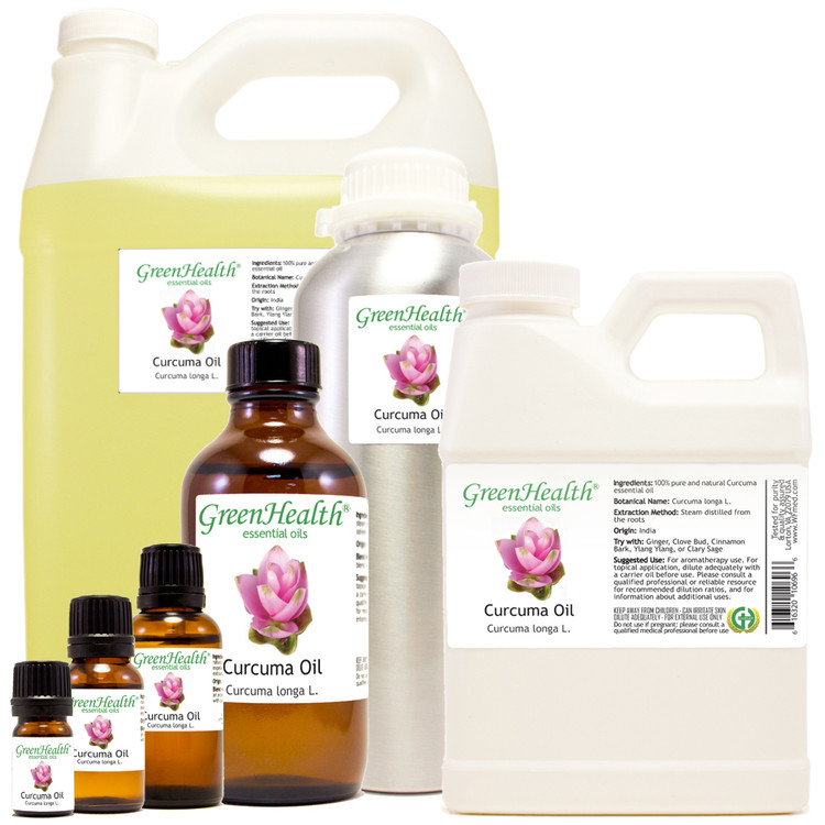 Curcuma essential oil 5ml, 10ml, 15ml, 30ml, 2oz, 4oz, 8oz, 16oz, 32oz
