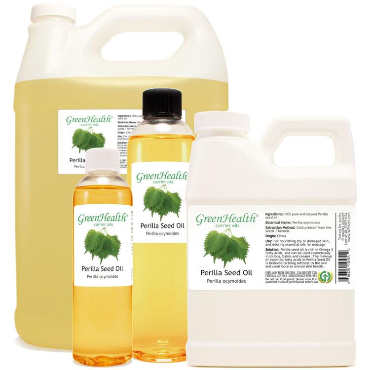 Perilla Seed Oil 1oz 2oz 4oz 8oz 16oz 32oz