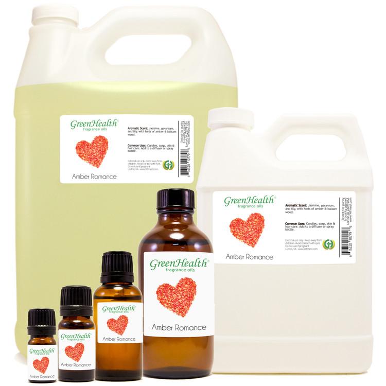 Amber Romance Fragrance Oil 10ml 1oz 2oz 4oz 8oz 16oz 32oz