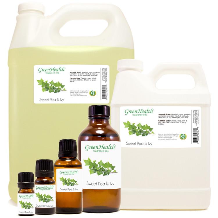 Sweet Pea & Ivy Fragrance Oil 10ml 1oz 2oz 4oz 8oz 16oz 32oz